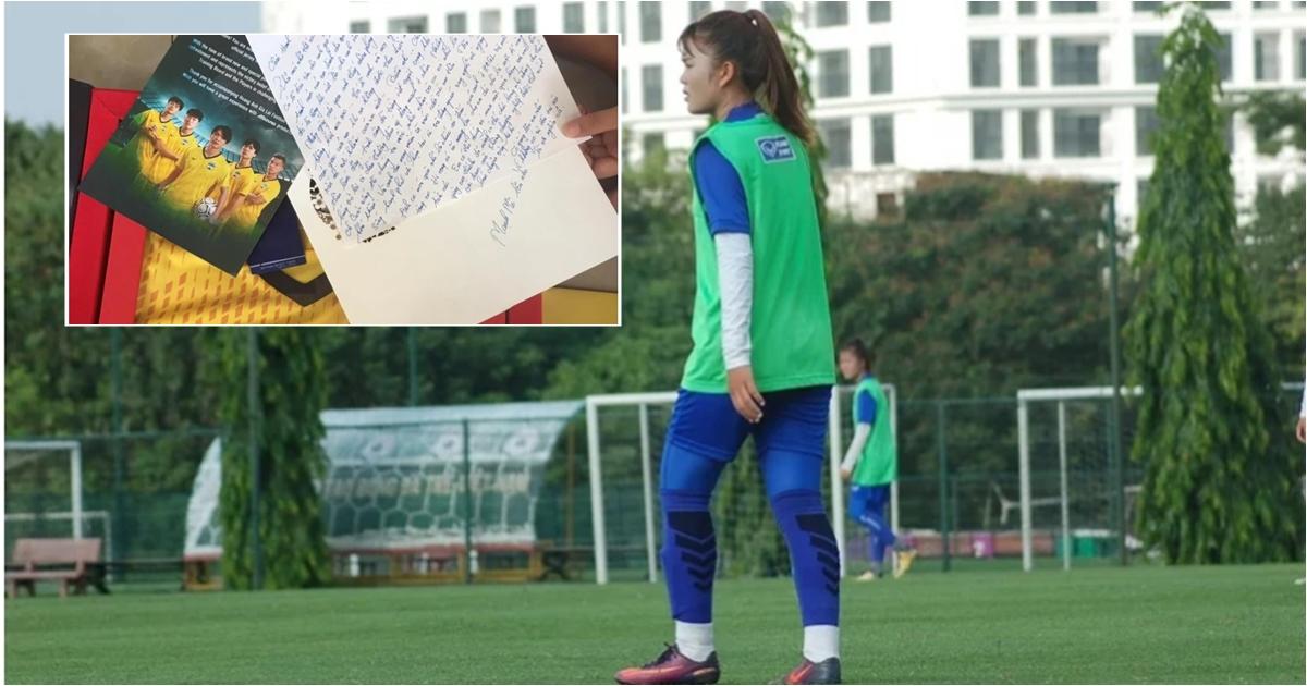 Tuyển thủ Việt Nam viết tâm thư xúc động đến nữ đồng nghiệp