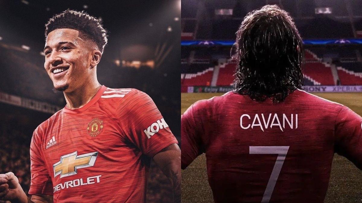Động thái của Cavani về việc nhường áo số 7 tại MU cho Sancho