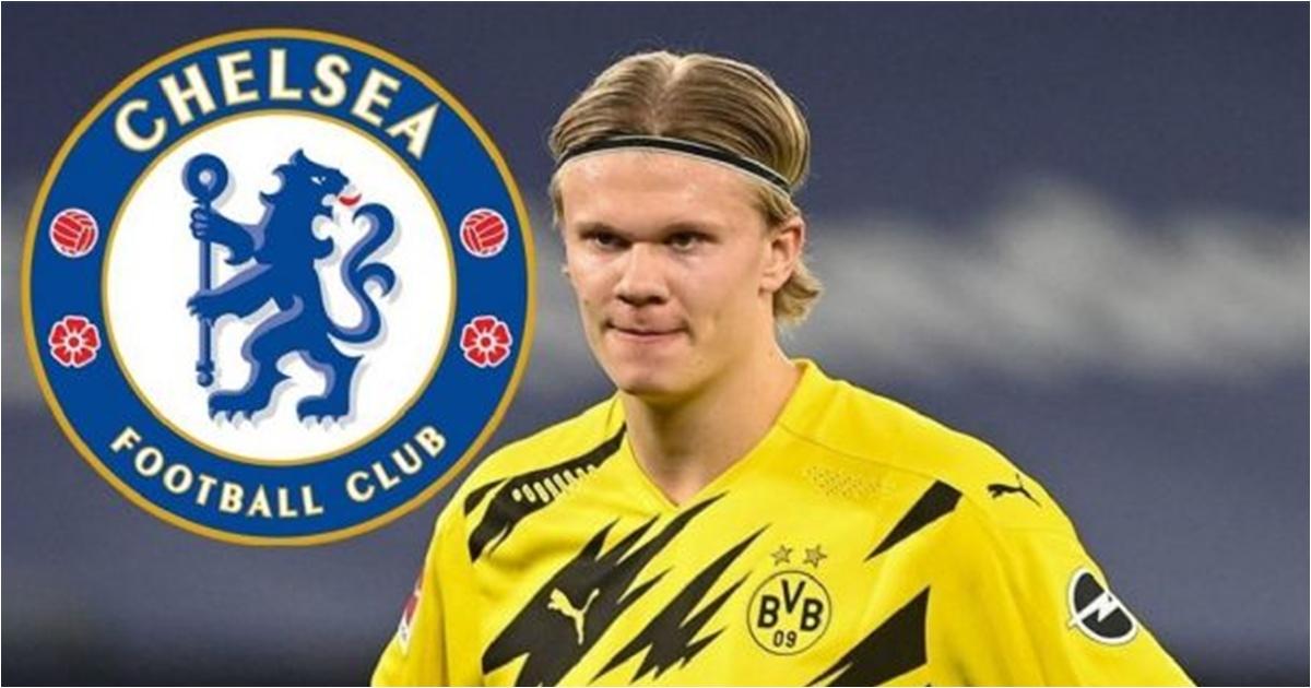 Chelsea nâng giá mua Haaland = 100 triệu + hàng thừa
