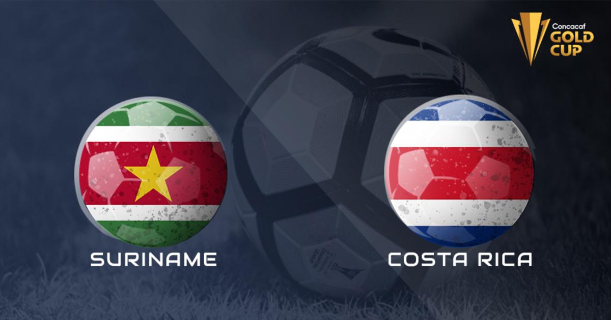 Kết quả Gold Cup 2021: Suriname vs Costa Rica