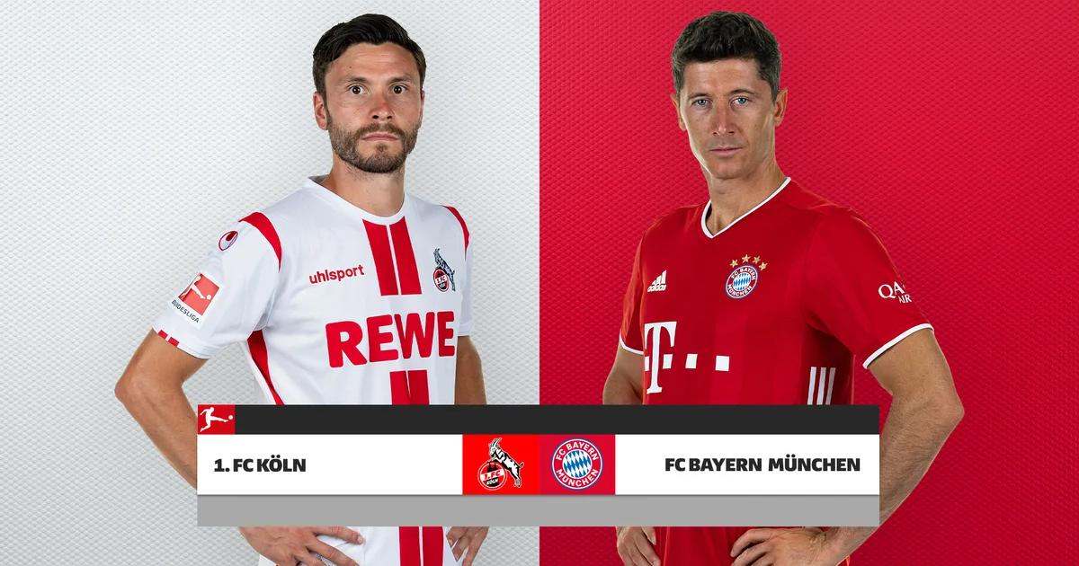 Kết quả Koln vs Bayern Munich | Giao hữu CLB 2021 | 21h ngày 17/7/2021