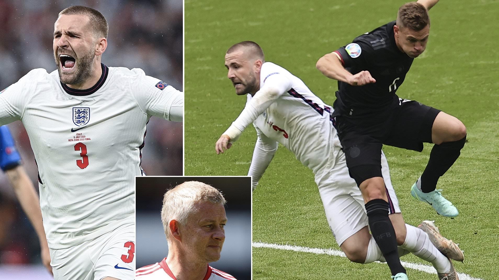 SỐC: Shaw đá 3 trận liên tiếp tại EURO trong tình trạng... gãy xương sườn