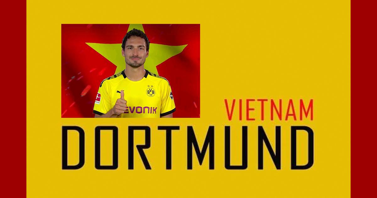 CLB Dortmund và Việt Nam kết hợp cho ra sản phẩm 'ngàn năm có một'