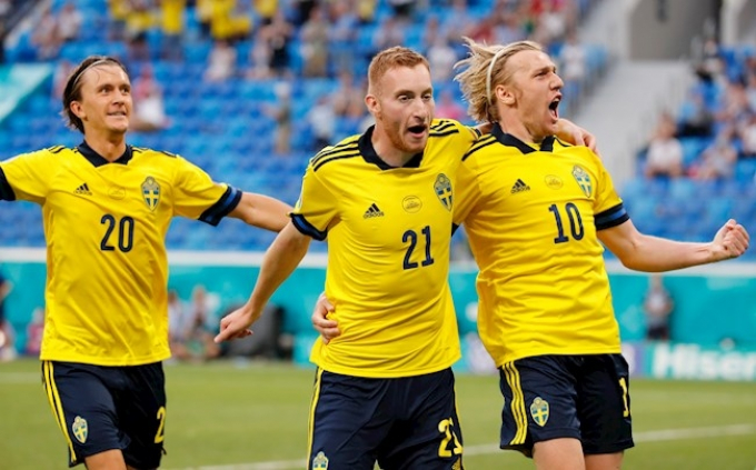 Nhận định Thụy Điển vs Ukraina   EURO 2021   02h00 ngày 30/06/2021