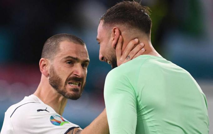 Italia hạnh phúc tột độ khi đánh bại tuyển Bỉ để vào Bán kết EURO 2021