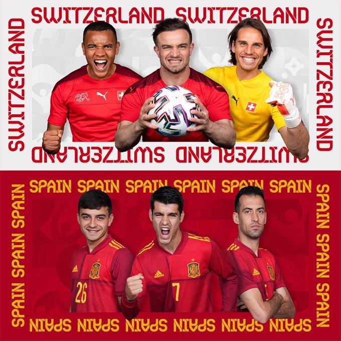 Tây Ban Nha chấm dứt hành trình kỳ diệu của Thụy Sĩ tại EURO 2021