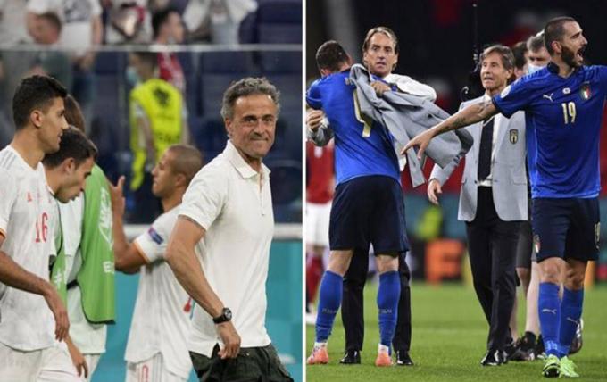 HLV Italia đòi công bằng cho hai đội tuyển trước thềm Bán kết EURO