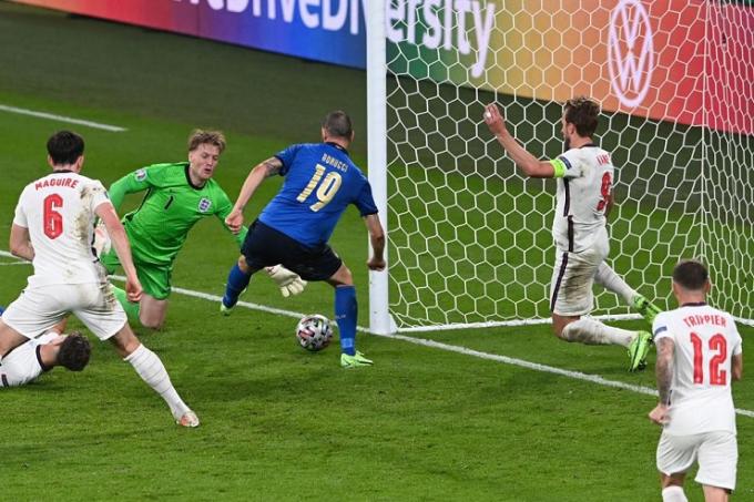 Bonucci thiết lập cột mốc lịch sử trong ngày đăng quang EURO 2021