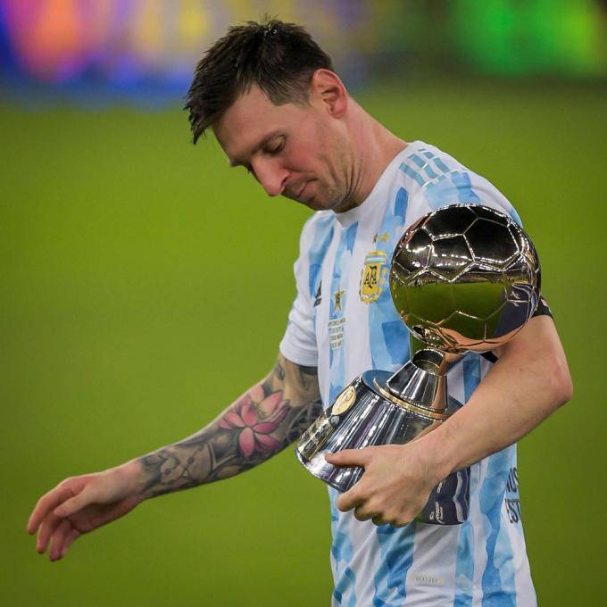 Xác nhận tương lai Messi sau khi vô địch Copa America