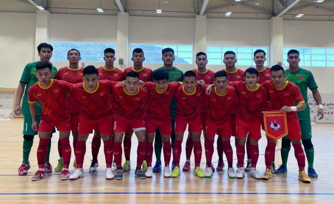 Xác định chỉ tiêu của Futsal Việt Nam tại World Cup 2021