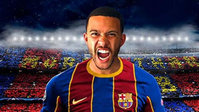 Memphis Depay đặt mục tiêu giành nhiều danh hiệu cùng Barca