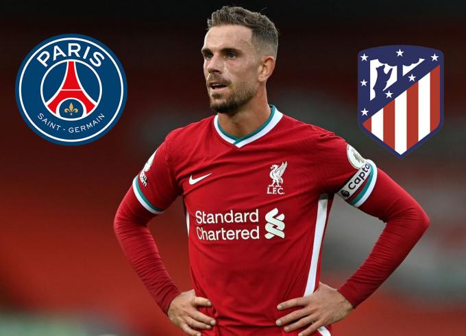 Bị Liverpool bỏ rơi, Henderson được PSG, Atletico bật đèn xanh
