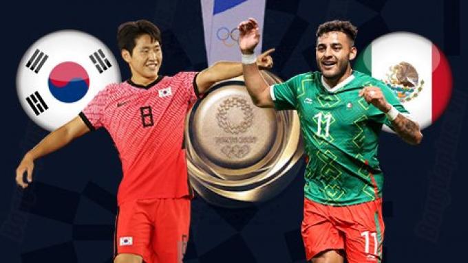 Thần rùa tiên tri dự đoán U23 Hàn Quốc vs U23 Mexico   Olympic Tokyo 2021   18h ngày 31/7/2021