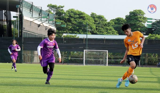 Kết quả trận tái đấu giữa <b>ĐTQG nữ Việt Nam vs U15 nam Futsal Thái Sơn Bắc</b>