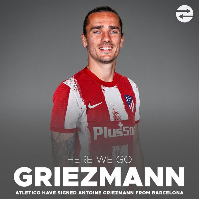 Barca bất ngờ cho Atletico mượn Griezmann, Koeman tái hợp trò cũ