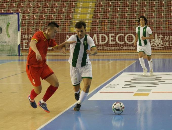 Kết quả trận giao hữu giữa <b>ĐT Futsal Việt Nam vs Futsal Cordoba</b>