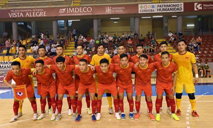 CHÍNH THỨC: ĐT Futsal Việt Nam <b>chốt 16 cầu thủ</b> tham dự World Cup 2021