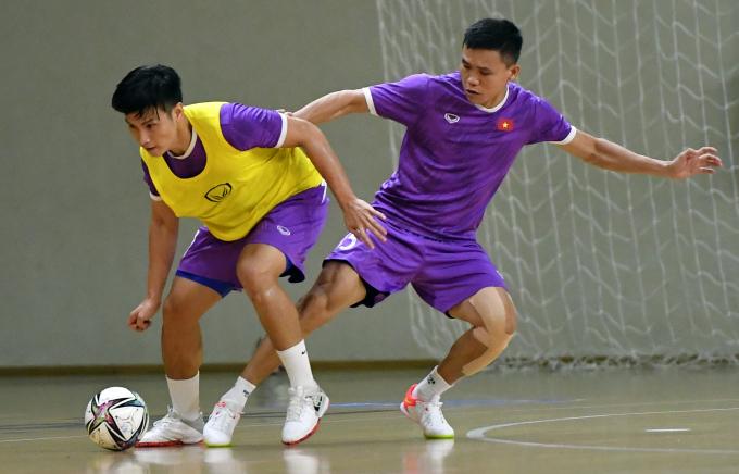 NÓNG! ĐT Futsal Việt Nam chuẩn bị đấu với nhà vô địch châu Phi