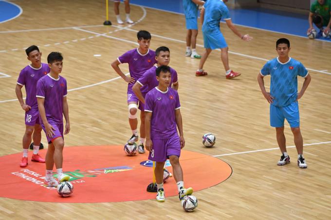 HLV ĐT Futsal Việt Nam nói về kết quả chuẩn bị cho World Cup 2021