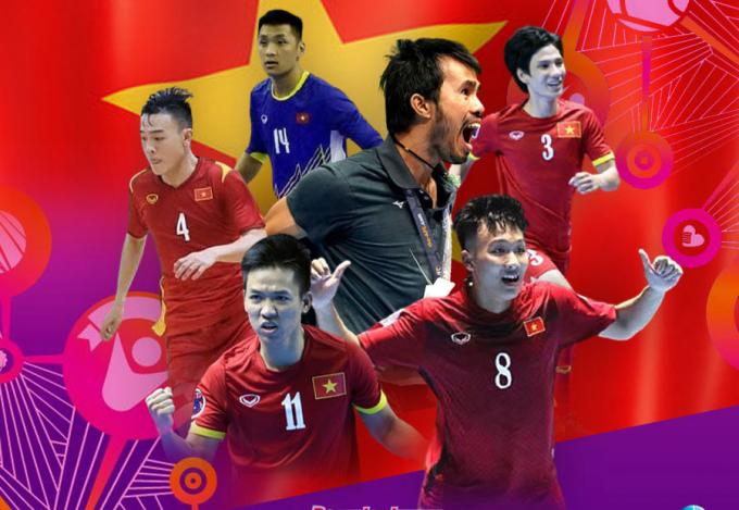 <b>Tối nay</b>, ĐT Futsal Việt Nam thi đấu vòng 1/8 FIFA Futsal World Cup 2021
