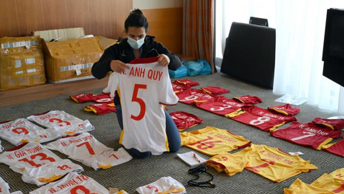 <b>Xác định màu áo</b> của ĐT Futsal Việt Nam ở trận ra quân World Cup 2021 gặp Brazil