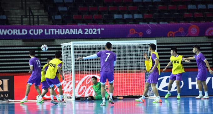 <b>Xác định số lượng khán giả</b> được vào xem trận ĐT Futsal Việt Nam vs Brazil