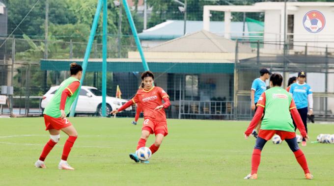 HLV của ĐT nữ Việt Nam <b>nhận định về cơ hội</b> vượt qua vòng loại Asian Cup
