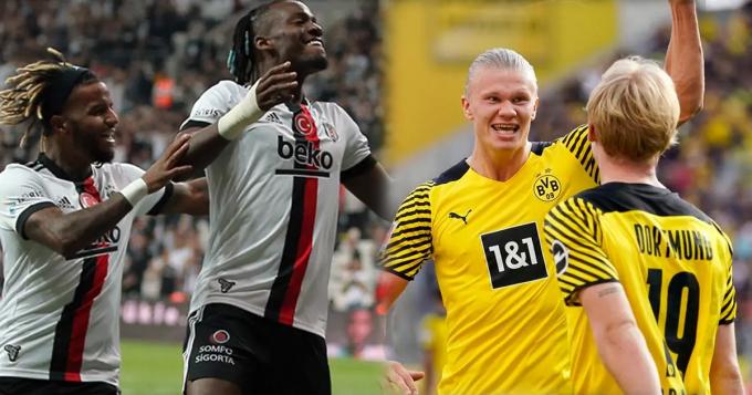 Xem trực tiếp Besiktas vs Borussia Dortmund ở đâu, kênh nào