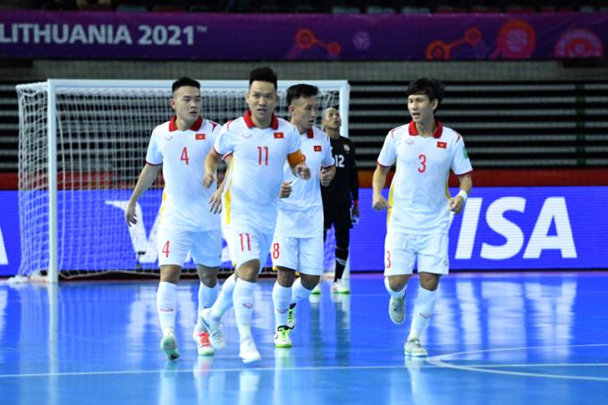 Lãnh đạo VFF <b>nhận định cơ hội vượt qua vòng bảng</b> World Cup của ĐT Futsal Việt Nam