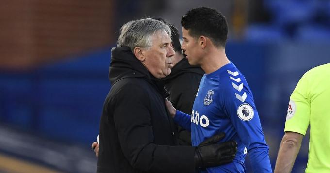 Thất sủng ở Everton, James <b>tìm đường tới Qatar</b>