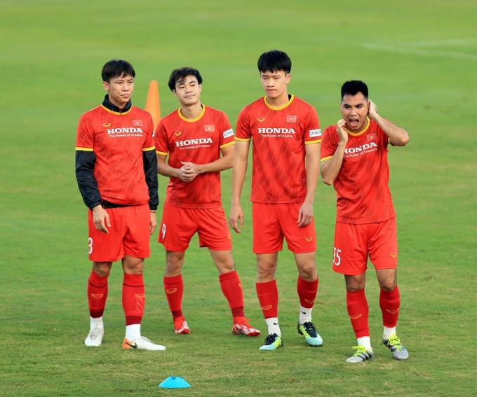 <b>Phản ứng của các tuyển thủ Việt Nam</b> sau kết quả bốc thăm AFF Cup 2020