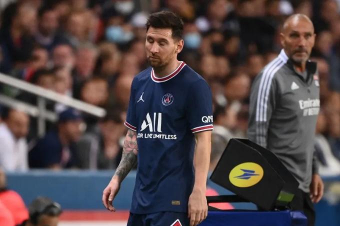 <b>Messi chính thức vắng mặt trận</b> PSG gặp Montpellier