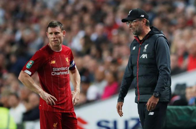 SỐC: Klopp và Milner <b>suýt đánh nhau trong phòng thay đồ Liverpool</b>