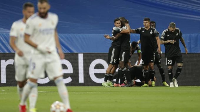 Sheriff đội bóng nhỏ bé tạo nên địa chấn tại Champions League