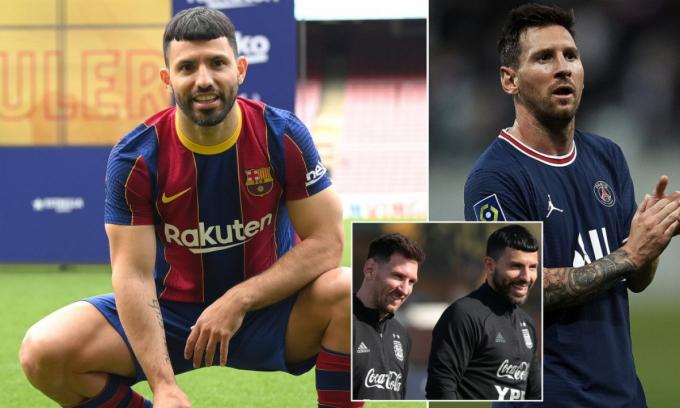 Tiết lộ: Aguero 2 lần <b>từ chối đại gia nước Ý</b> để sát cánh cùng Messi