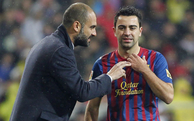 Pep và Xavi cùng giữ vai trò <b>cố vấn không chính thức tại Barcelona</b>