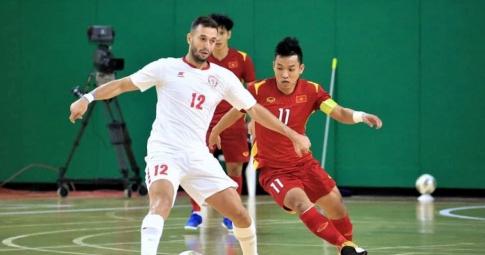 Kết quả Futsal Việt Nam vs Lebanon: Thành bại ở trận lượt về