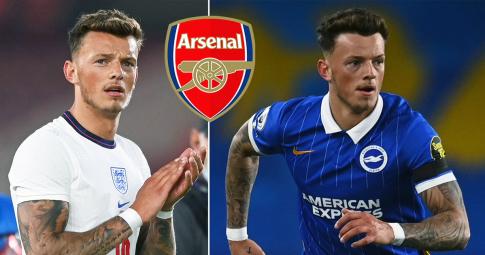 """Không chỉ có Ben White, Arsenal còn muốn """"tậu"""" thêm 2 tuyển thủ Anh tại EURO"""