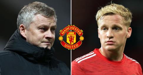 """Man United """"lỗ 1, lời 2"""" trong thương vụ giải thoát Donny van De Beek"""