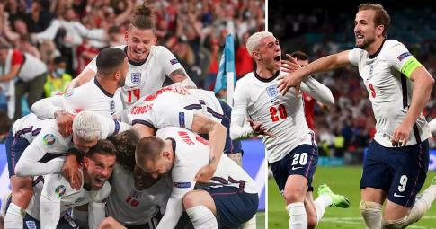 Vượt ải Đan Mạch, Anh hẹn gặp Italia tại Chung kết EURO 2021