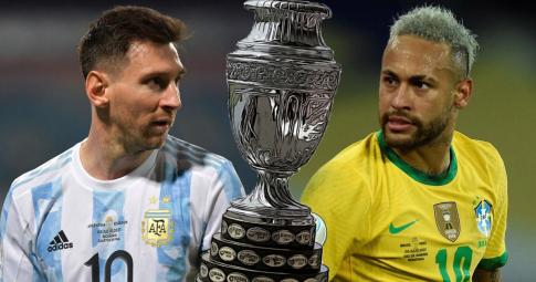 Neymar gửi lời tuyên chiến với Messi trước thềm chung kết Copa America