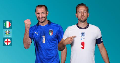 Nhận định Italia vs ĐT Anh | EURO 2021 | 02h00 ngày 12/07/2021