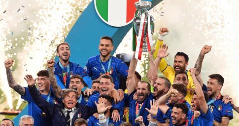 Chùm ảnh: Italia lên ngôi vô địch EURO 2021 ngay tại thánh địa Wembley