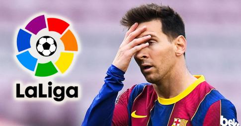 "Messi bị ""bay màu"" khỏi La Liga"