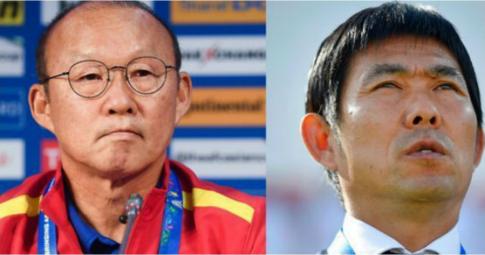 """Thầy Park từng là """"ác mộng"""" của HLV trưởng Nhật Bản"""