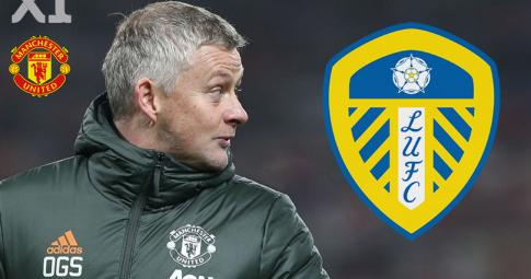 Man United vs Leeds: Đội hình xuất phát Man United