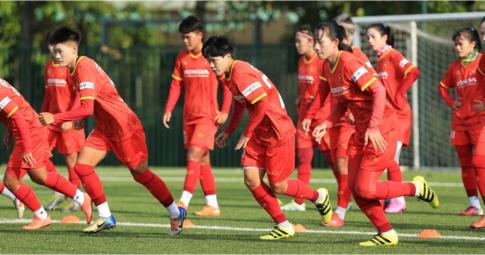 ĐT nữ Việt Nam hoàn tất thủ tục quan trọng trước khi dự vòng loại Asian Cup