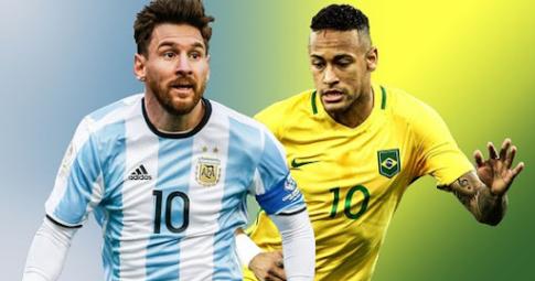 Neymar toả sáng trong ngày Messi xô đổ kỷ lục của Pele