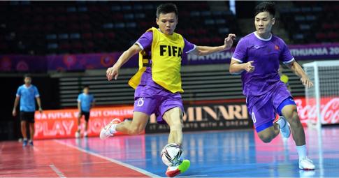 Xác định số lượng khán giả được vào xem trận ĐT Futsal Việt Nam vs Brazil