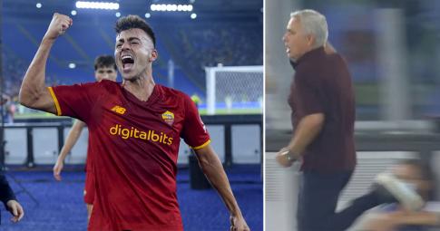 """Mourinho """"chạy như bay"""" khi thắng kịch tích cùng AS Roma <b>ở trận đấu thứ 1000</b>"""